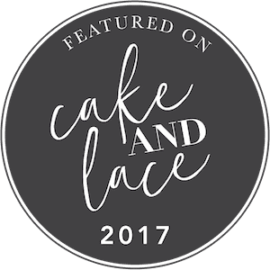Omaha, Nebraska wedding photographer featured on Cake and Lace blog