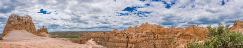 badlands in south dakota photography