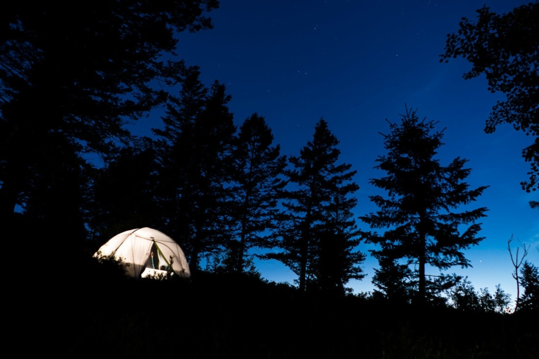 camping adventure photography in Grand Teton National Park