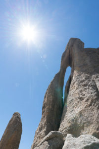 needle on the Needles Highway