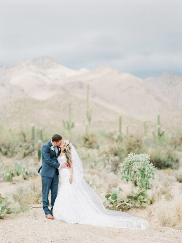destination wedding photography in Sabino Canyon in Arizona