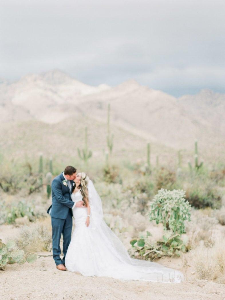 destination wedding photography in Sabino Canyon in Arizona