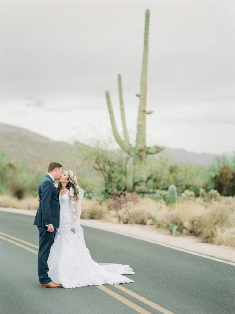 wedding at Sabino Canyon in Arizona
