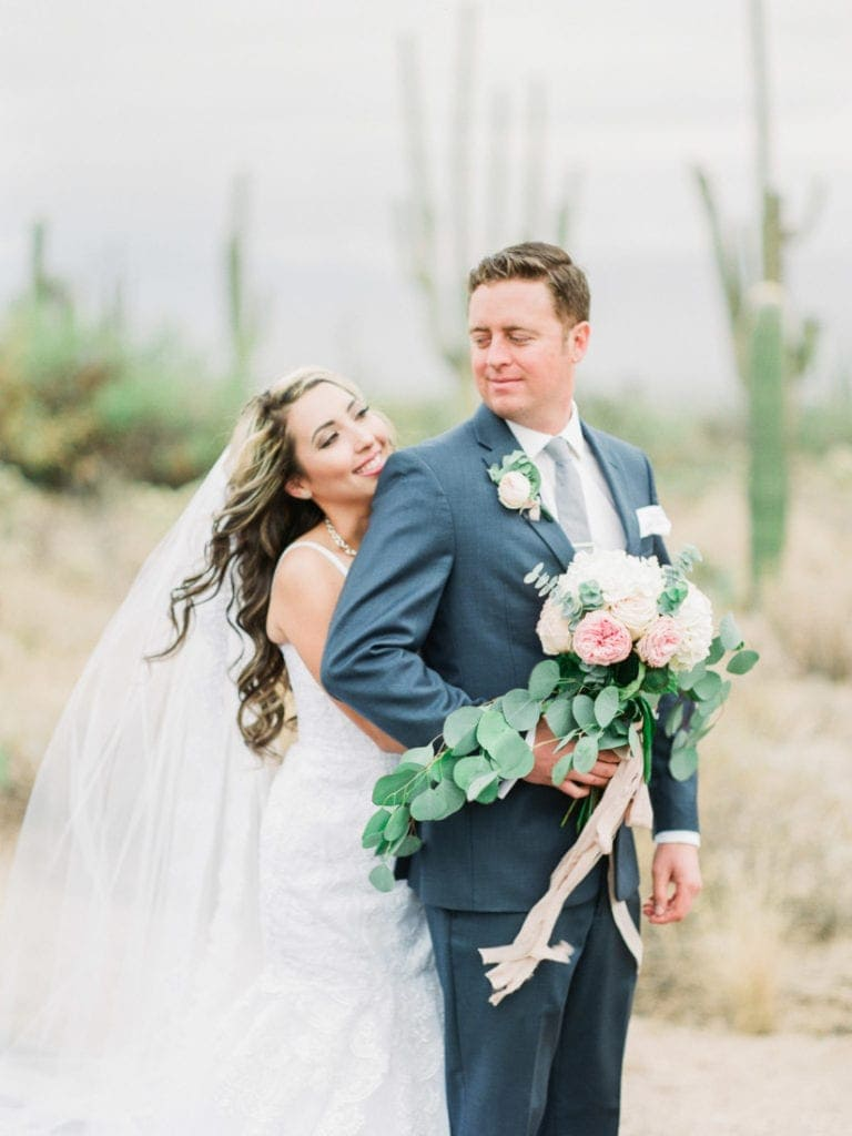 Saguaro National Park wedding