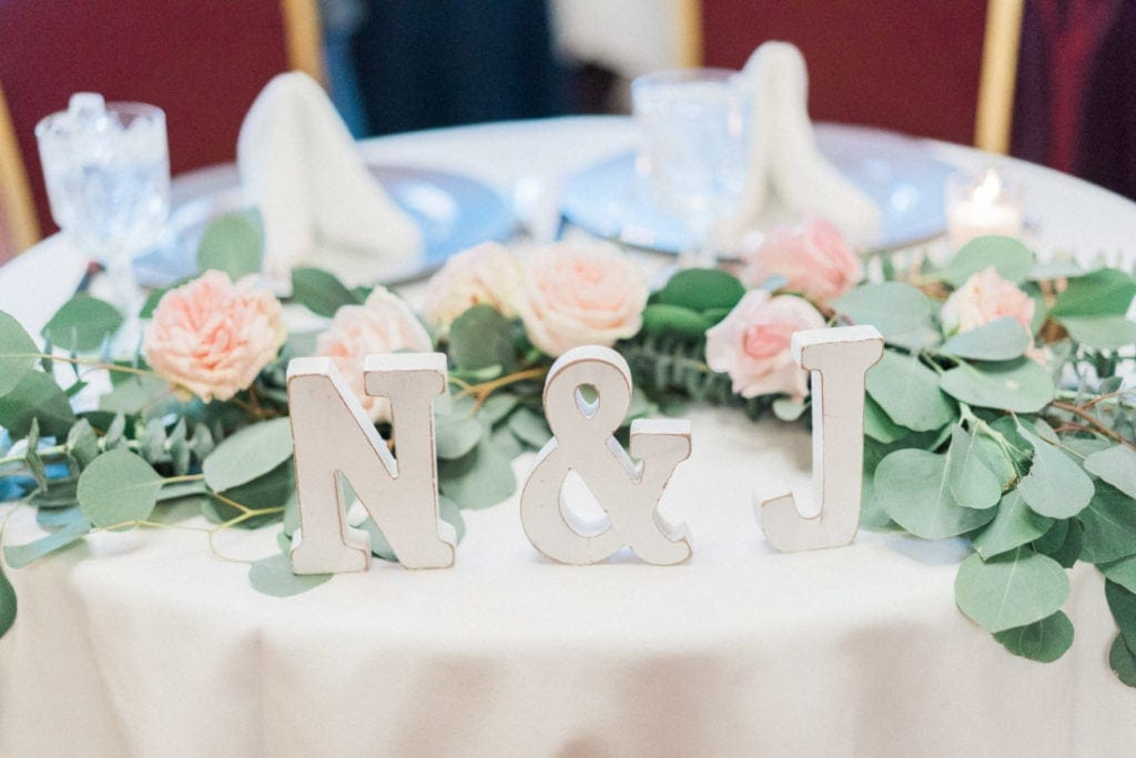 custom wedding letters in Arizona