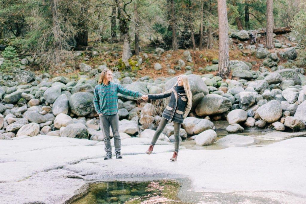 adventure wedding photography in Yosemite