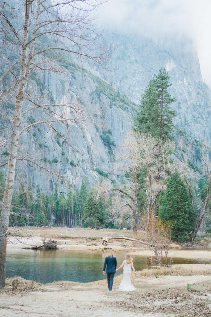 adventure wedding in California