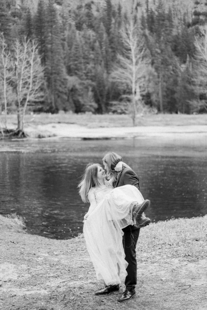 Colorado adventure wedding