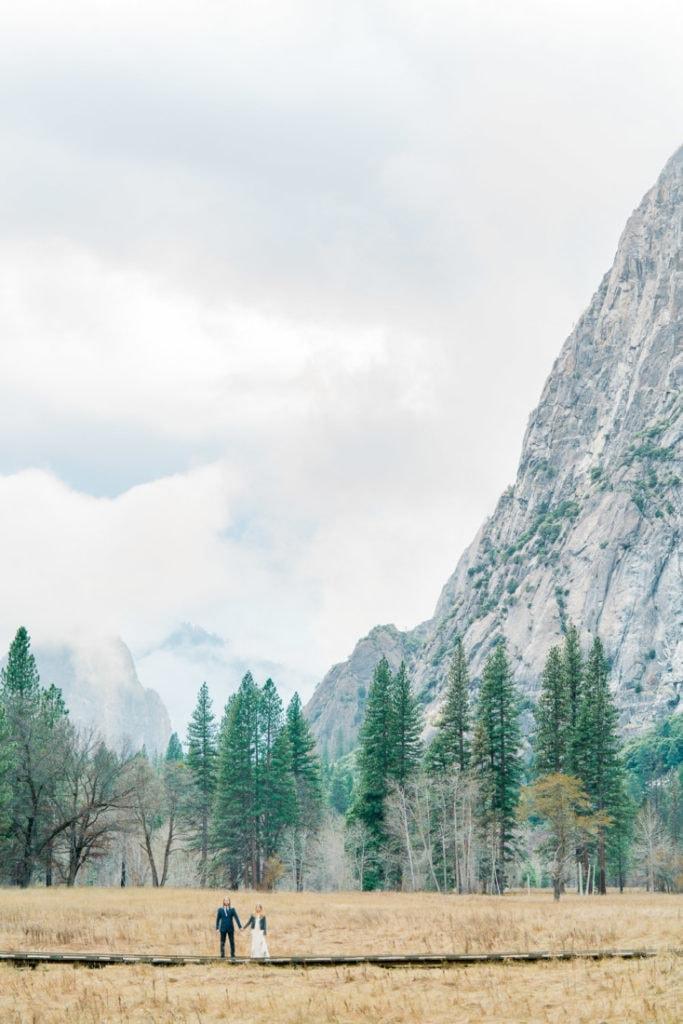 couple in Yosemite