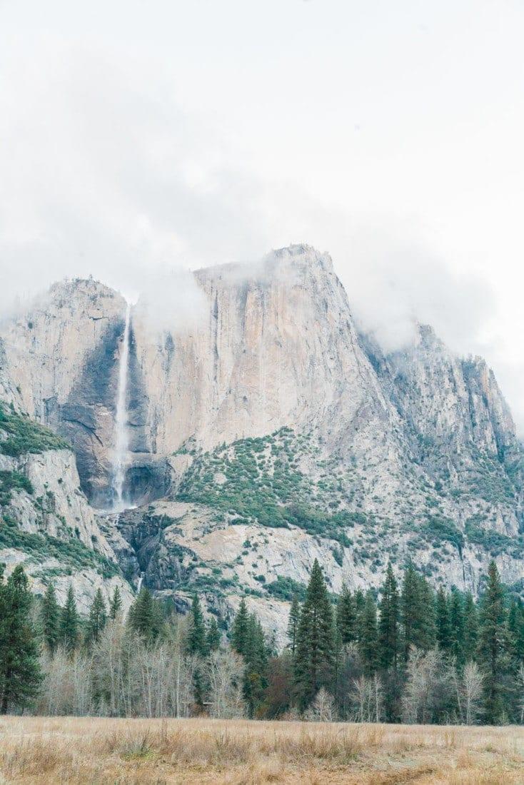 Yosemite Falls in California