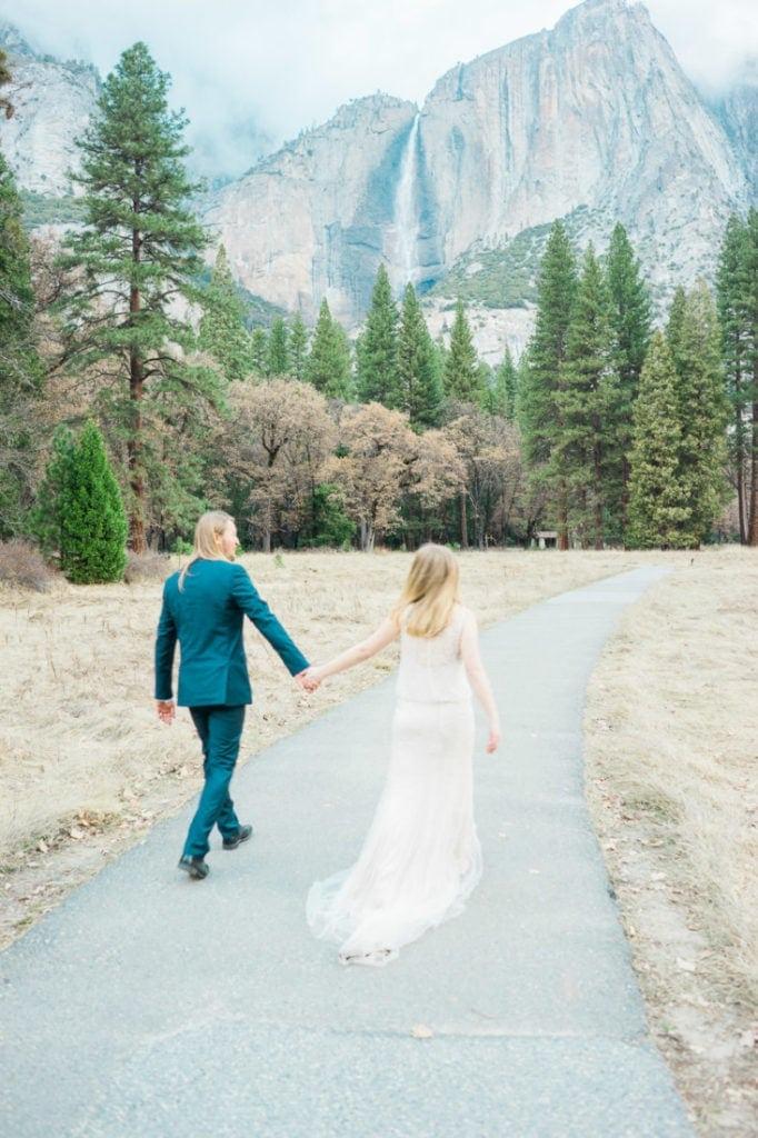 adventurous wedding in California