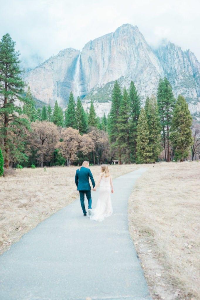 Yosemite adventure wedding