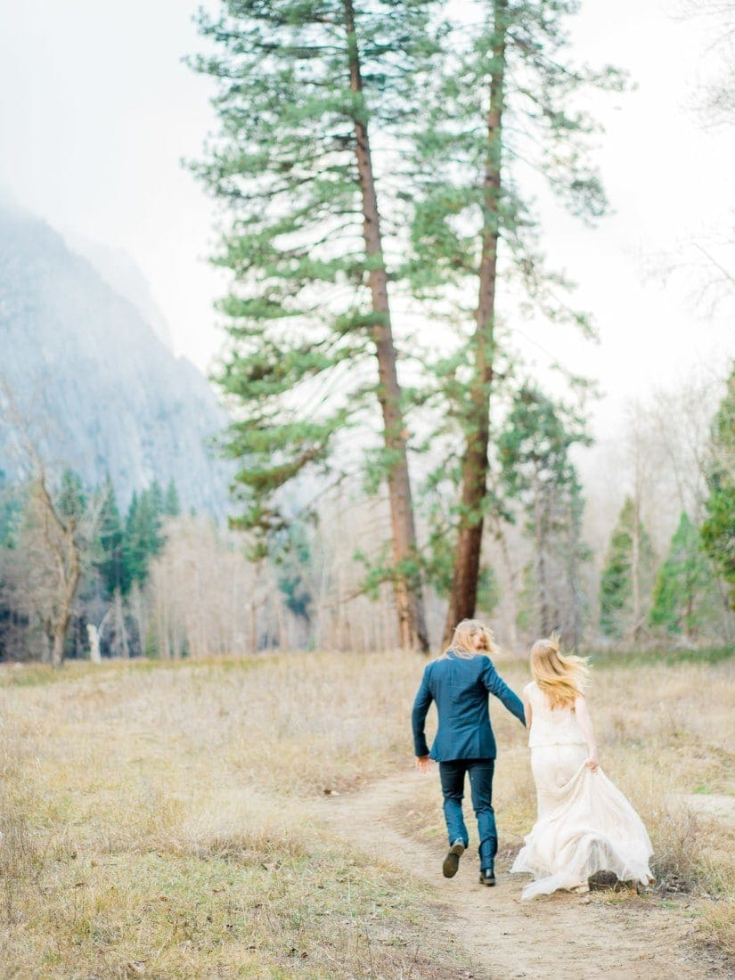adventure wedding in Yosemite National Park