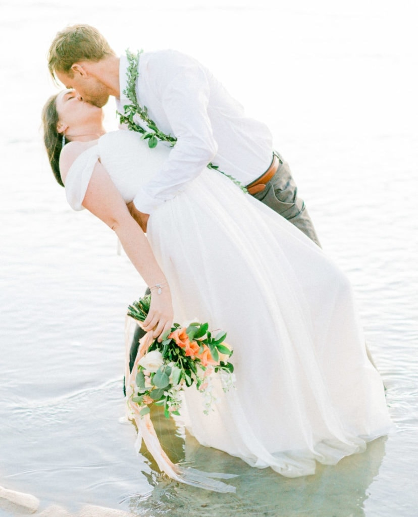 river adventure wedding with a fun couple