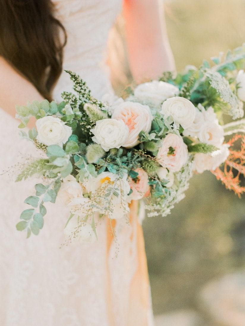 bridal bouquet at an Arizona wedding