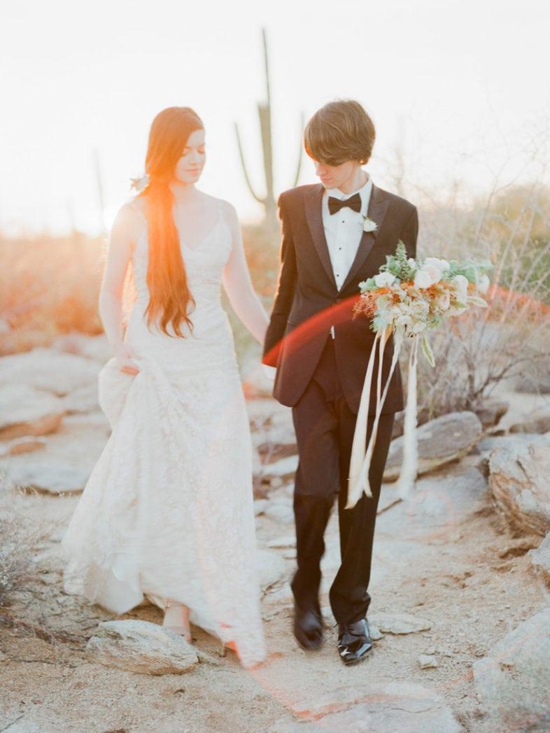 Arizona elopement photographer | film photographer in Phoenix, AZ