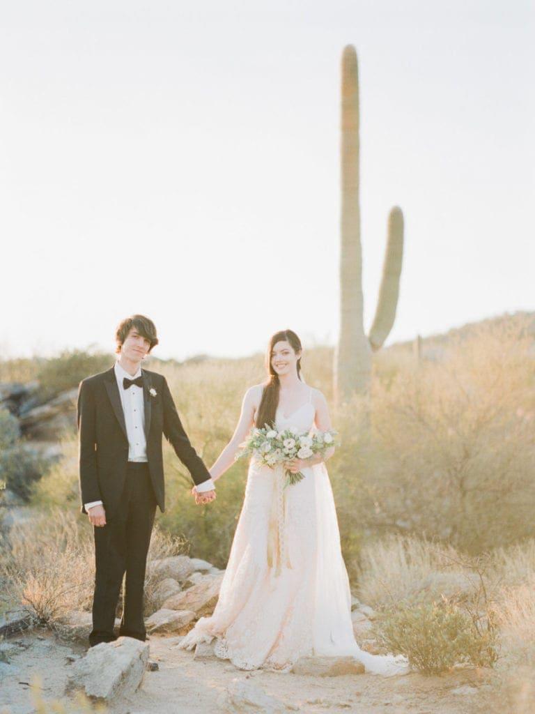adventurous wedding in Arizona