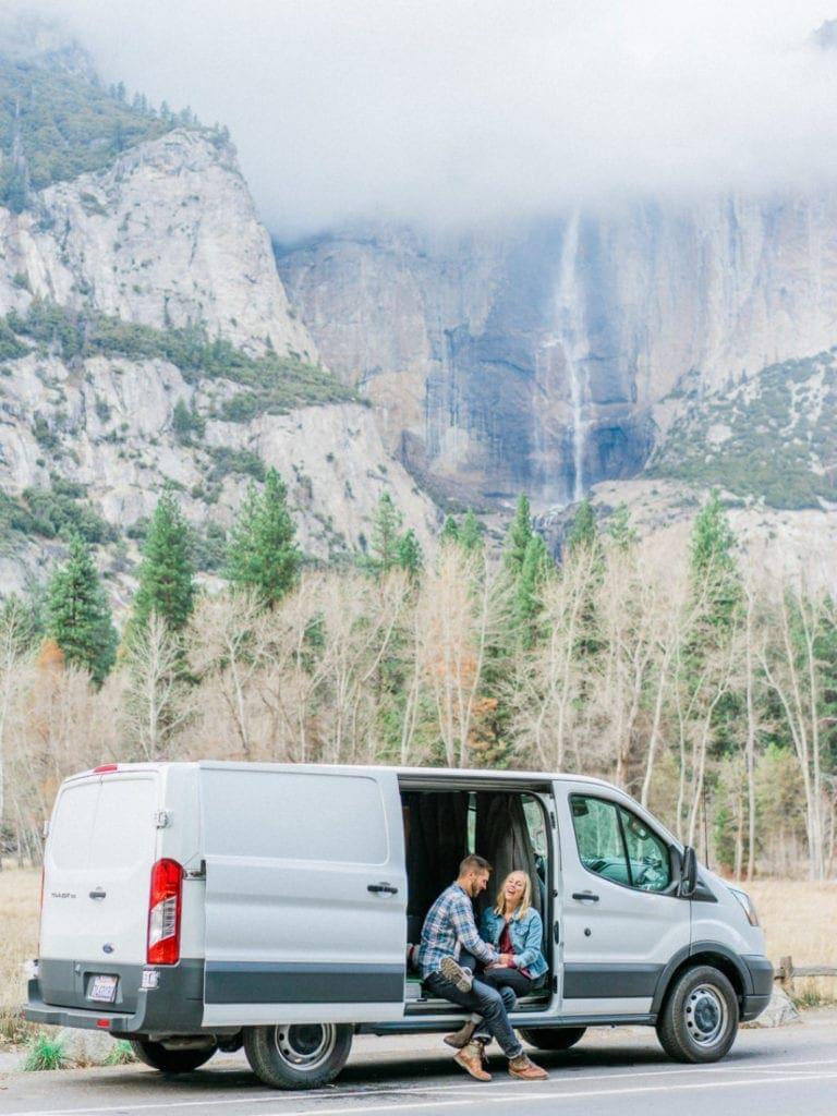 van life in Yosemite National Park