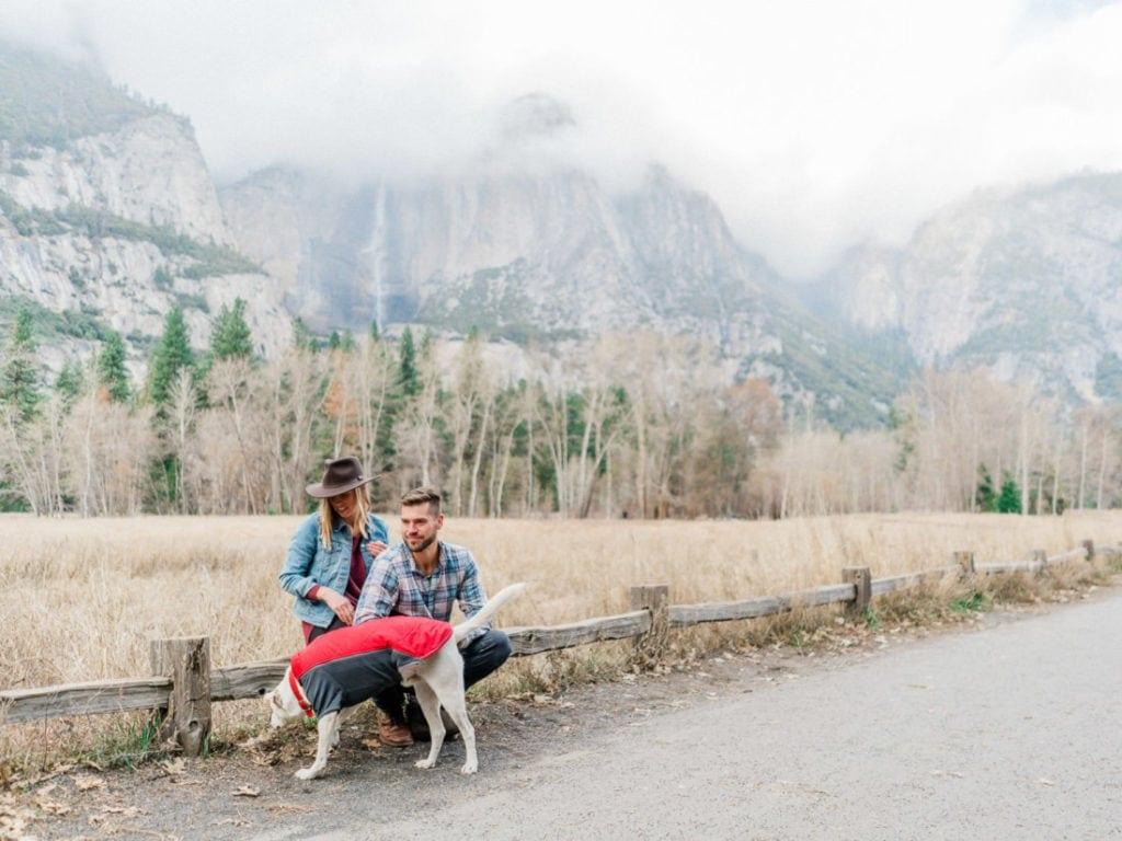 adventure wedding photographer in Yosemite National Park