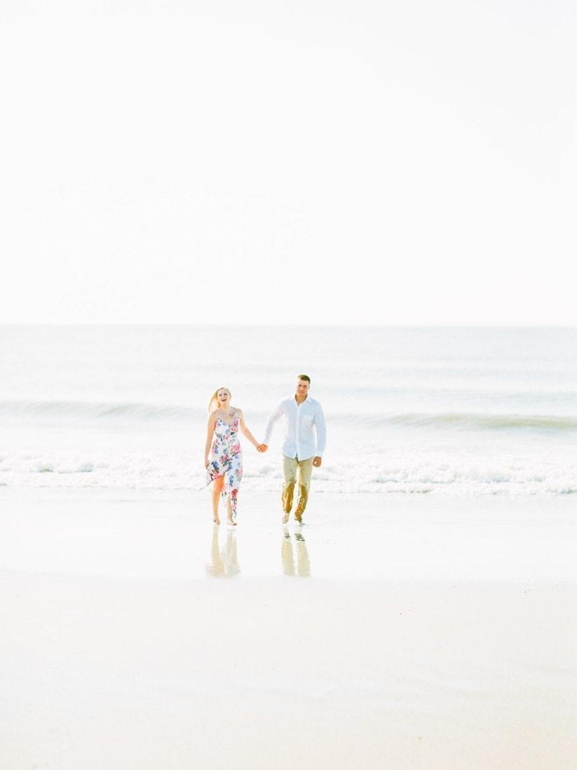 engagement photographer in Savannah, GA and Tybee Island