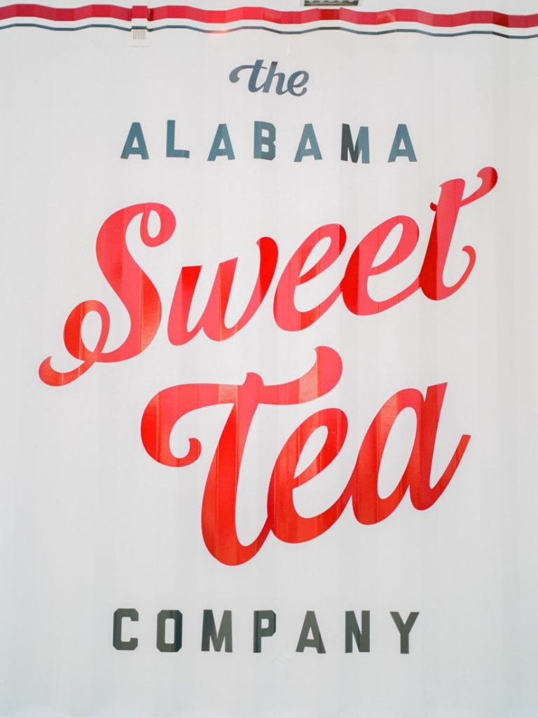 The Alabama Sweet Tea Company sign