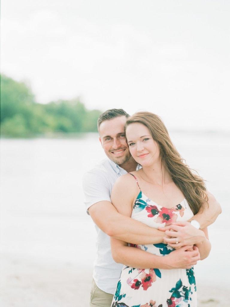 Andrew & Mindy | couples adventure session in Nebraska