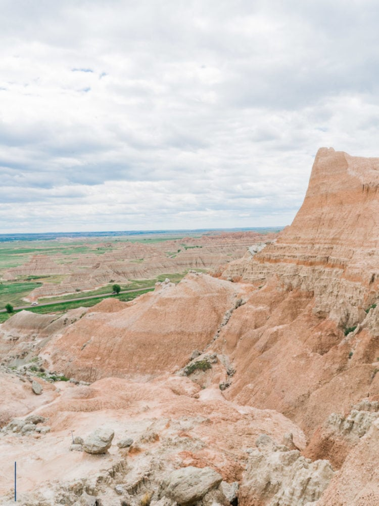 South Dakota elopement photographer | elopement in the Badlands near Wall, SD