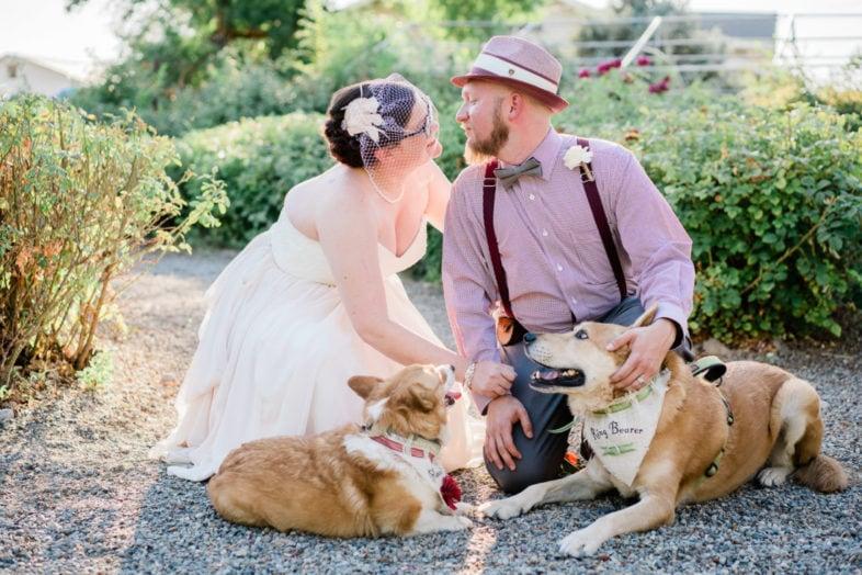 intimate wedding at Varaison Vineyards in Palisade, CO | Colorado elopement & wedding photographer