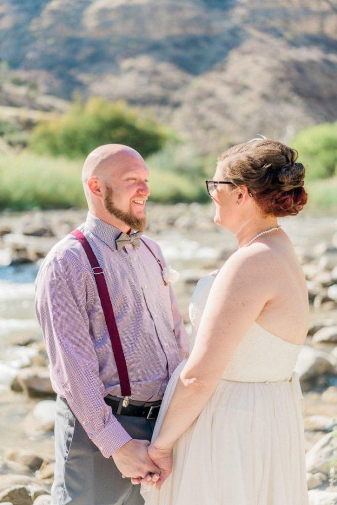 outdoor Colorado wedding