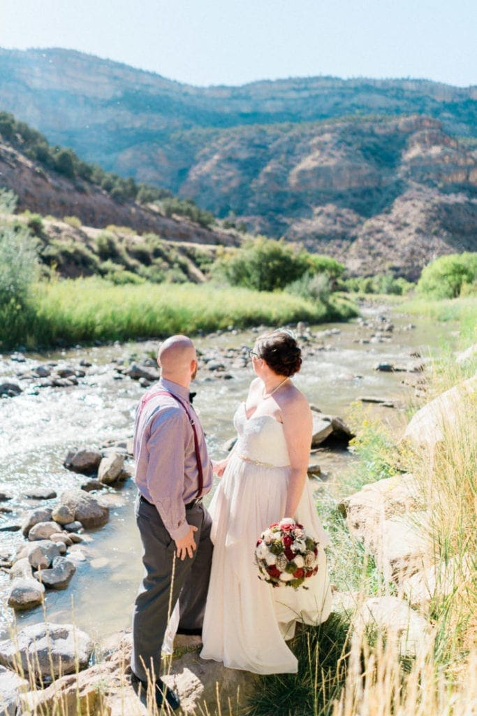 western Colorado elopement photographer