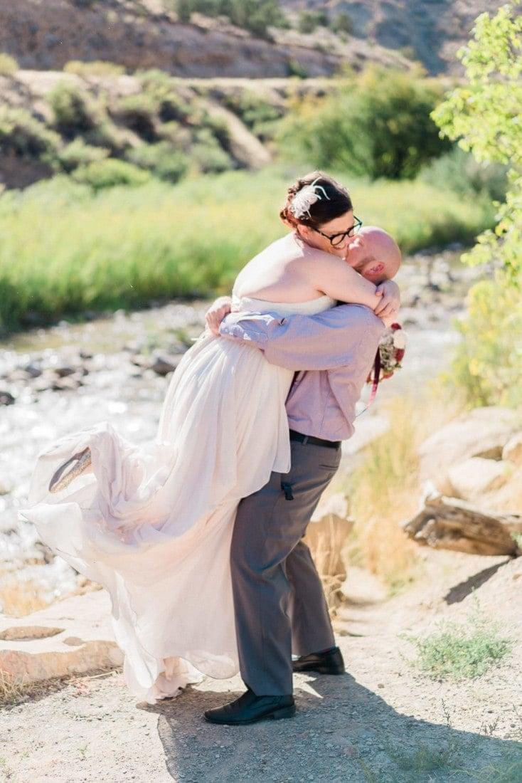 Tiffany + Scott | elopement in western Colorado