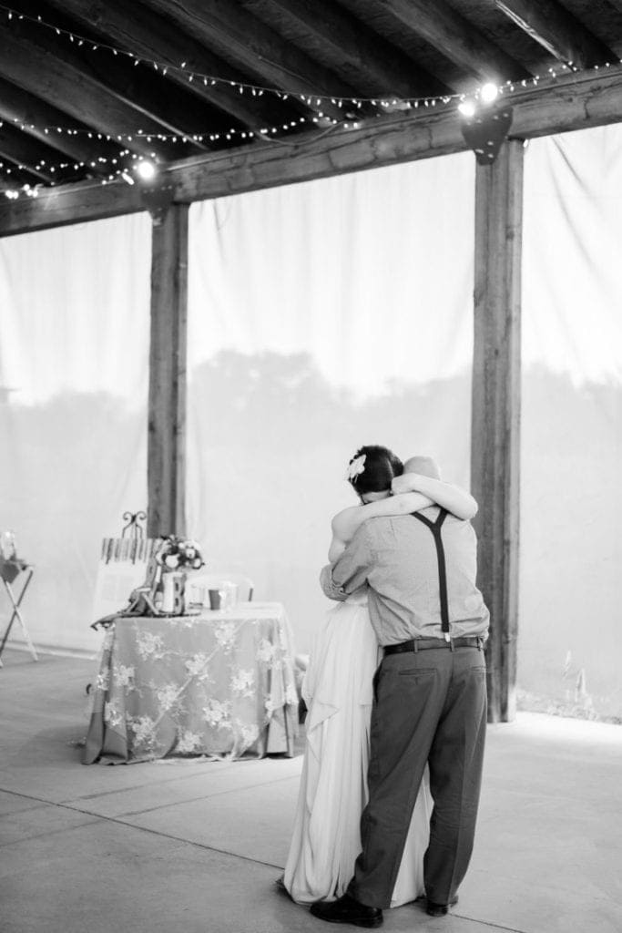 emotional first dance at a wedding in Palisade | Colorado wedding photographer
