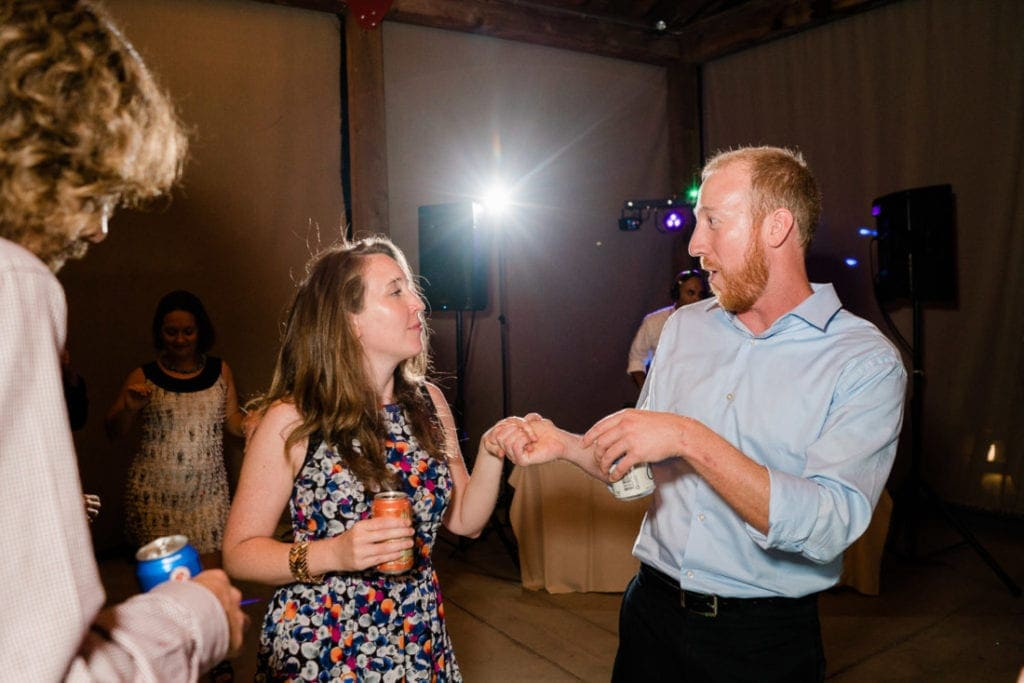 dancing at a Colorado wedding