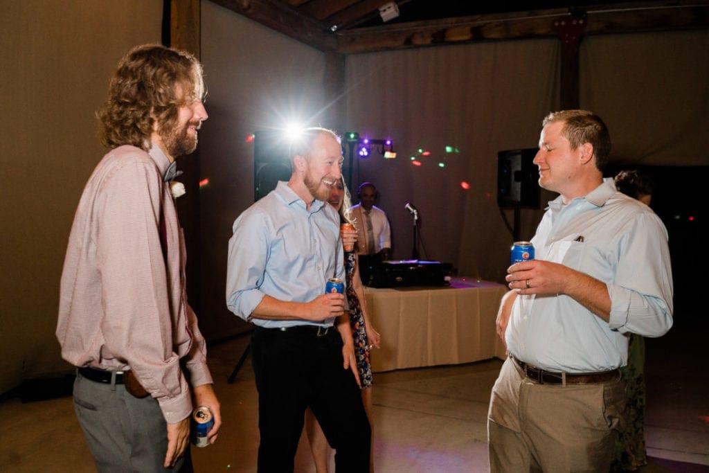 dancing at a wedding reception in Palisade, Colorado