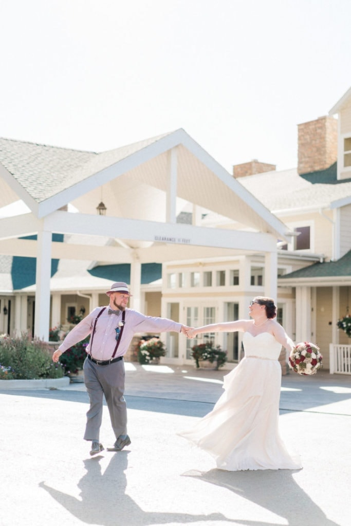 Colorado elopement at a vineyard in Palisade