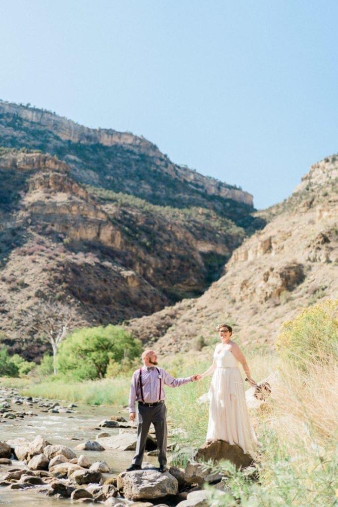 Tiffany & Scott | western Colorado elopement photographer