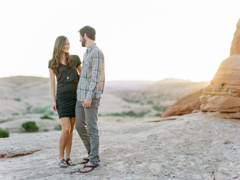 Moab, Utah Couples Adventure Session