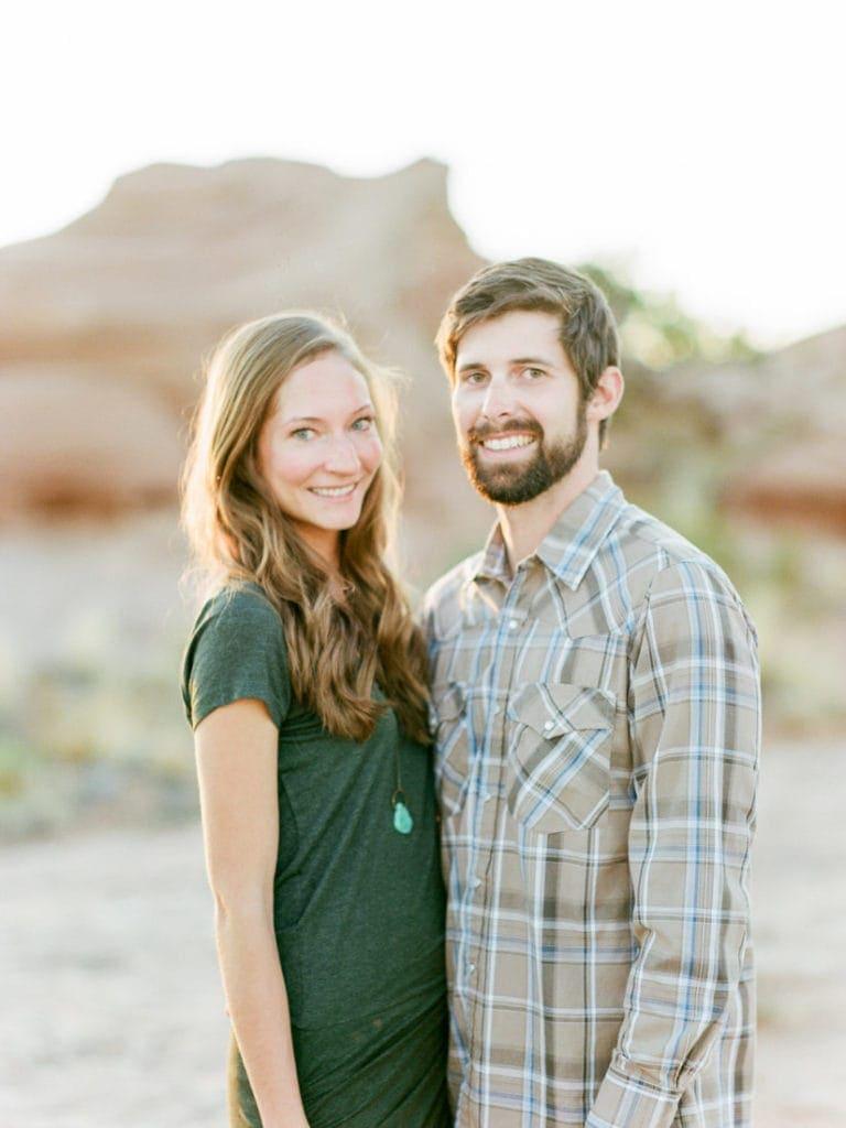adventures session in the Utah desert with Matt & Suzy