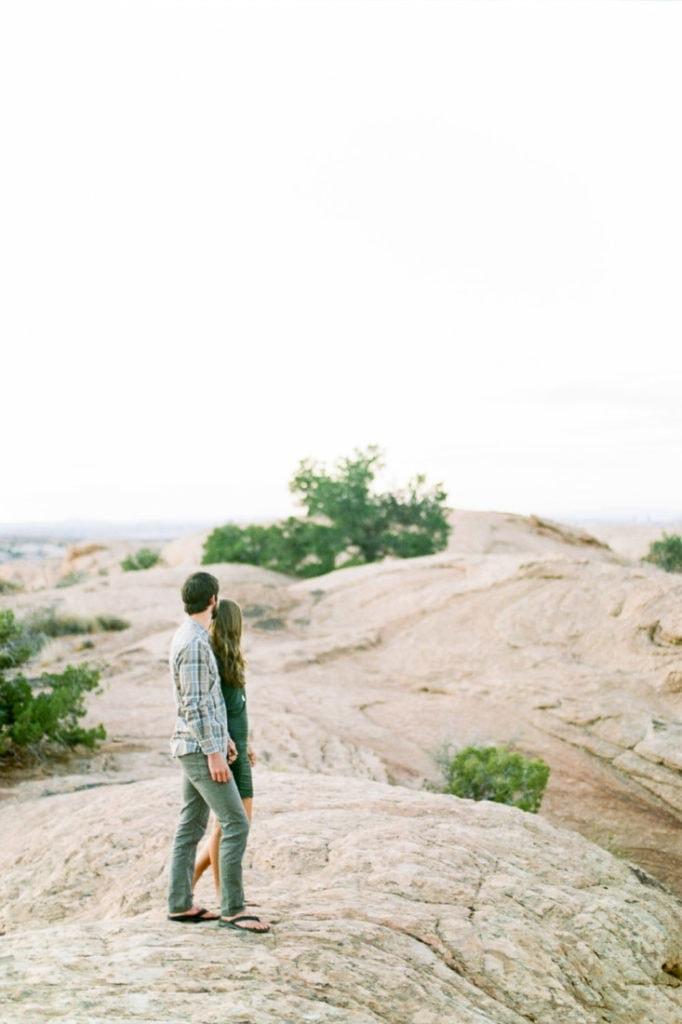 adventure session in Moab near the La Sal mountains
