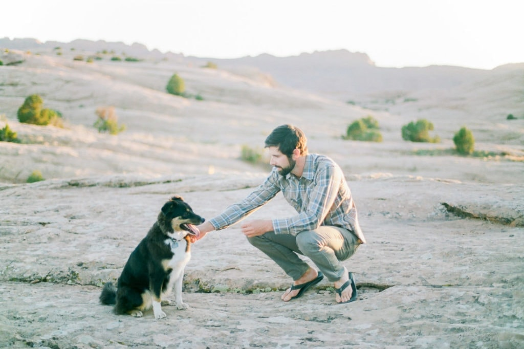 dog friendly trails and areas around Moab, UT