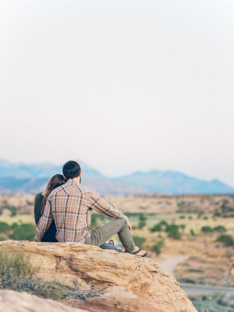 Matt & Suzy | day after session after their elopement in Moab