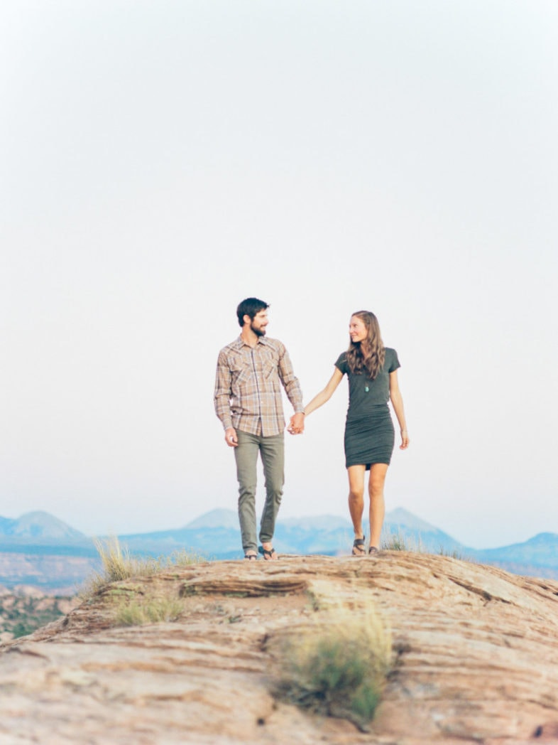 Moab elopement photographer | couples adventure session in Moab, Utah