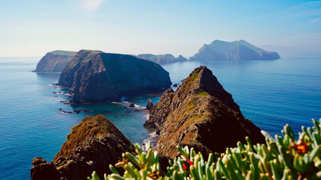 Ocean Views & Islands in Channel Islands National Park in California