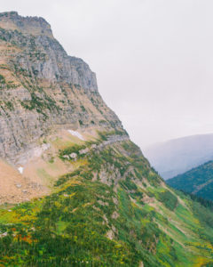 elopement photography in a valley of Glacier National Park