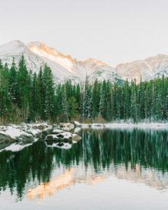 Bear Lake elopement in RMNP