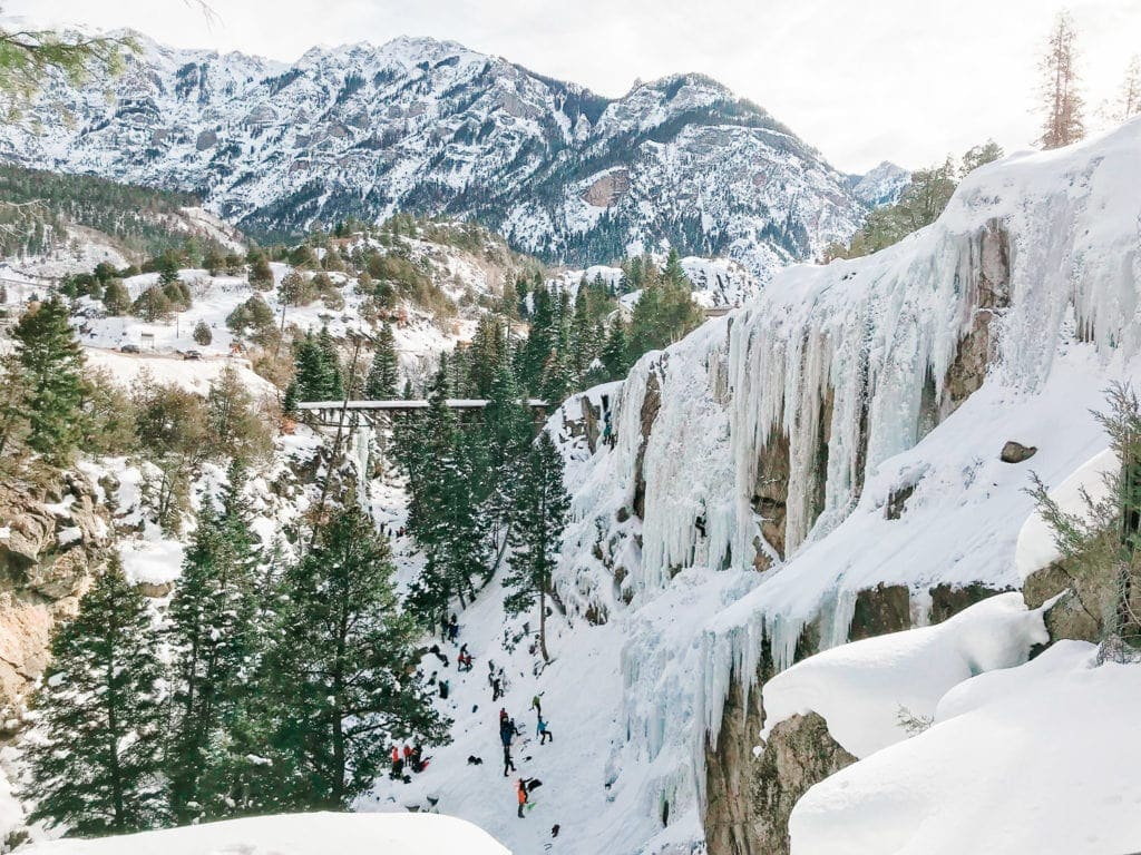 Ouray Ice Festival of January 2019