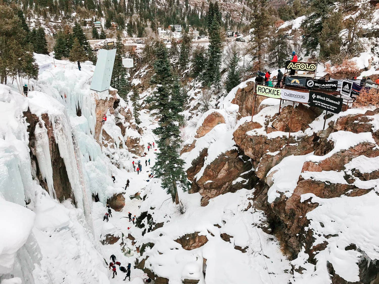 the Ouray Ice Festival in 2019