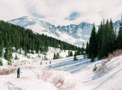 Cross Country Skiing & Snowshoeing in the Mountains of Colorado