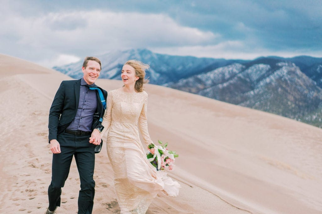 Colorado elopement in the Great Sand Dunes