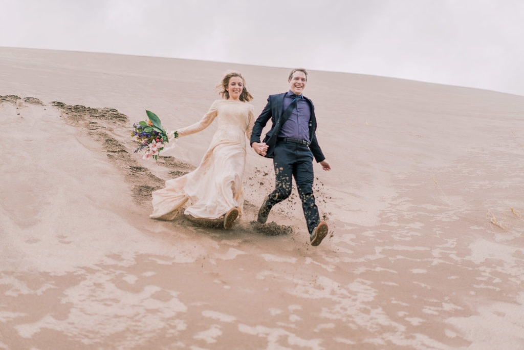 hiking elopement photographer in Colorado   Malachi at Shell Creek Photography